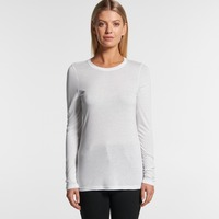 AS COLOUR Womens Fine Long Sleeve Tee