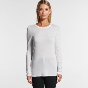 AS COLOUR Womens Fine Long Sleeve Tee Thumbnail