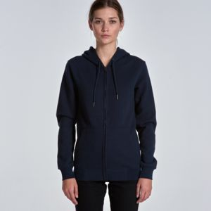 AS COLOUR Womens Index Zip Hood Thumbnail