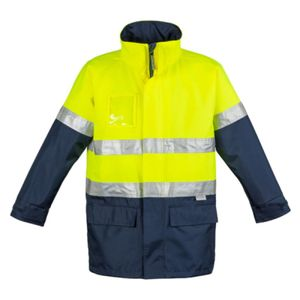 Mens Hi Vis Waterproof Lightweight Jacket Thumbnail