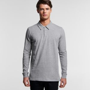 AS COLOUR Chad L/S Polo thumbnail