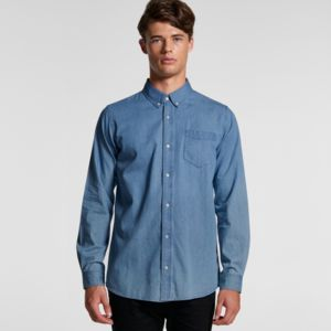 AS COLOUR Chambray Shirt Thumbnail