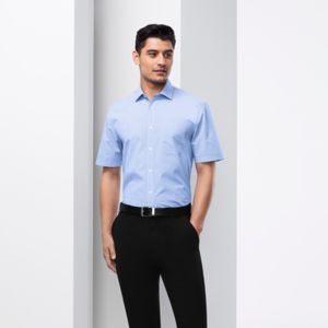 Biz Collection Mens Euro Short Sleeve Shirt Thumbnail