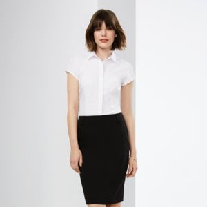 Biz Collection Women Euro Short Sleeve Shirt Thumbnail