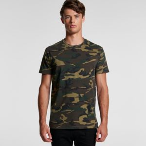 AS COLOUR Mens Camo Staple Tee Thumbnail