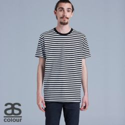 AS COLOUR Mens Staple Stripe Tee Thumbnail