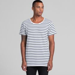 AS COLOUR Mens Wire Stripe Tee Thumbnail