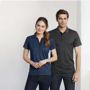 BIZ COLLECTION Womens Shadow Polo Thumbnail