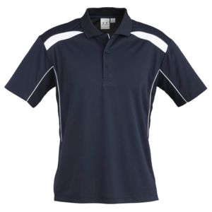 BIZ COLLECTION Mens United Polo Thumbnail