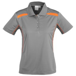 BIZ COLLECTION Womens United Short Sleeve Polo Thumbnail