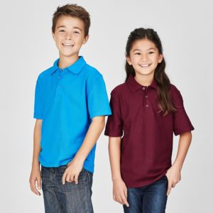 BIZ COLLECTION Kids Crew Polo Thumbnail