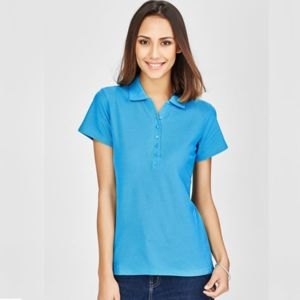 BIZ COLLECTION Womens Crew Polo Thumbnail