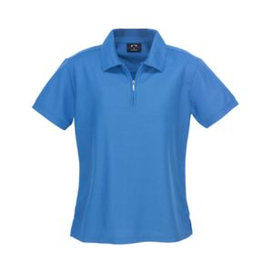 BIZ COLLECTION Womens Micro Waffle Polo Thumbnail