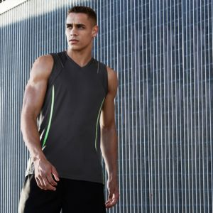 BIZ COLLECTION Mens Razor Singlet Thumbnail
