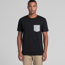 AS COLOUR Mens Staple Pocket Tee Thumbnail