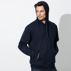 BIZ COLLECTION Mens Crew Hoodie Thumbnail