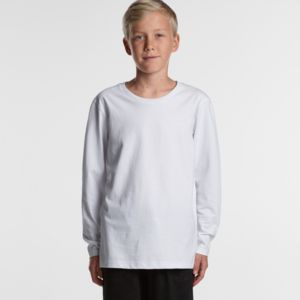 AS COLOUR Youth Long Sleeve Tee Thumbnail
