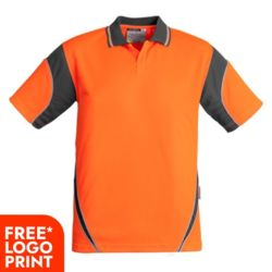 Mens Hi Vis Aztec Polo - Short Sleeve Thumbnail