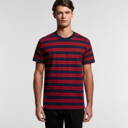 AS COLOUR Mens Classic Stripe Tee Thumbnail