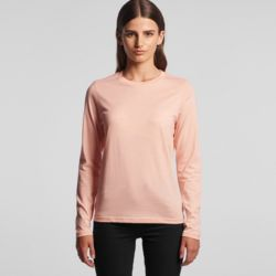 AS COLOUR Womens Chelsea Long Sleeve Tee Thumbnail