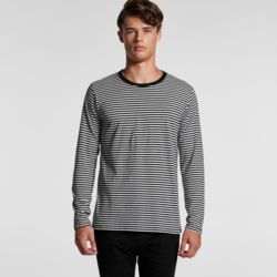 AS COLOUR Mens Bowery Stripe L/S Tee Thumbnail