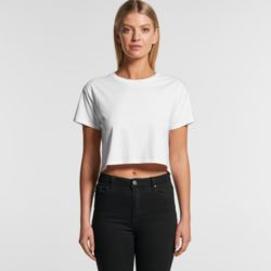 AS COLOUR Womens Crop Tee  Thumbnail