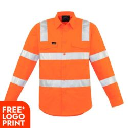 SYZMIK Mens Bio Motion Vic Rail Shrit Thumbnail