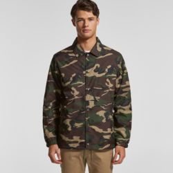 AS COLOUR Mens Coach Camo Jacket Thumbnail