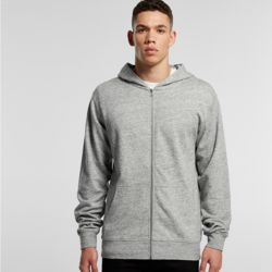 AS COLOUR Mens Fleck Zip Hood  Thumbnail