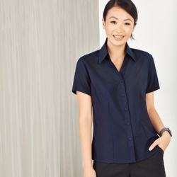 Womens Plain Oasis Short Sleeve Shirt Thumbnail