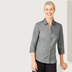 Womens Monaco 3/4 Sleeve Shirt  Thumbnail